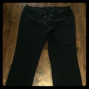 Business boot cut stretch slacks dress pants